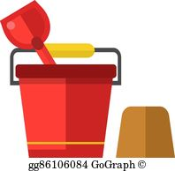 Sand Pail And Shovel Clip Art.