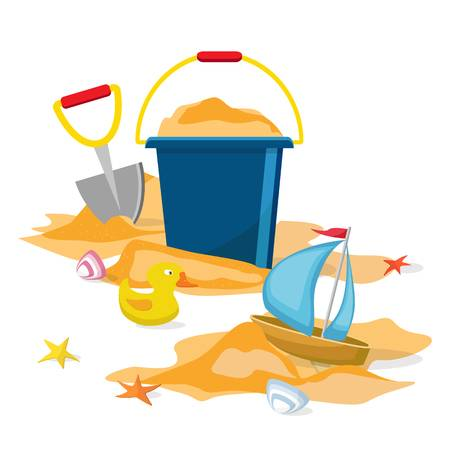 3,393 Sand Pail And Shovel Cliparts, Stock Vector And Royalty Free.