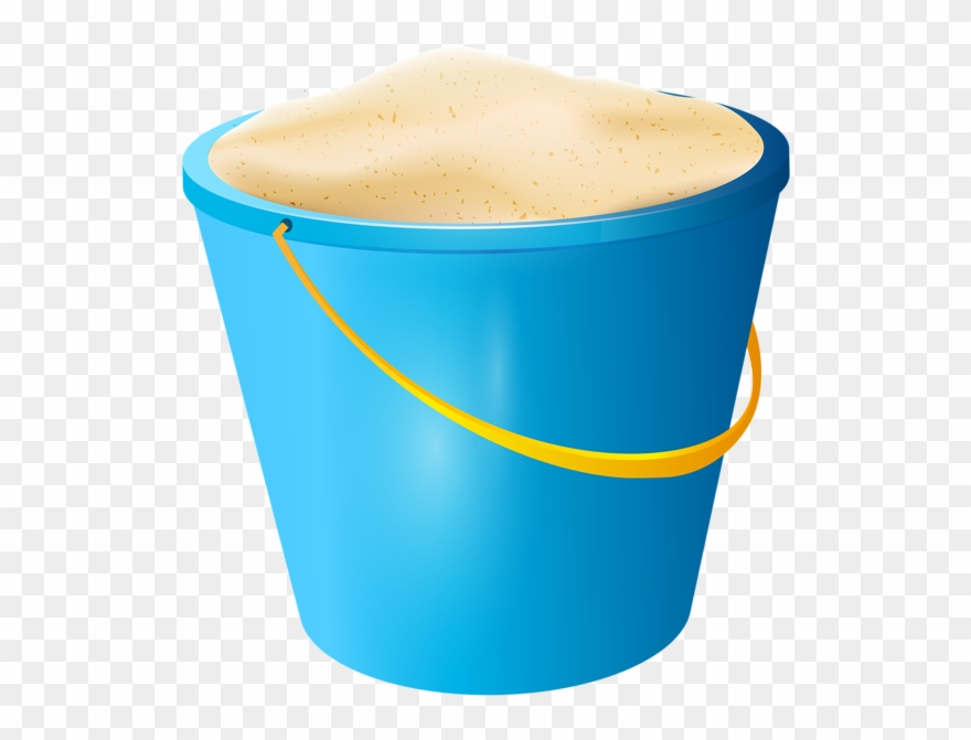 Beach Bucket Png Pail With Sand Beach Bucket Png.