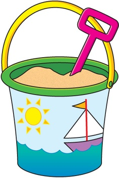 Beach party clip art.