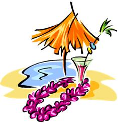Beach party clip art free.