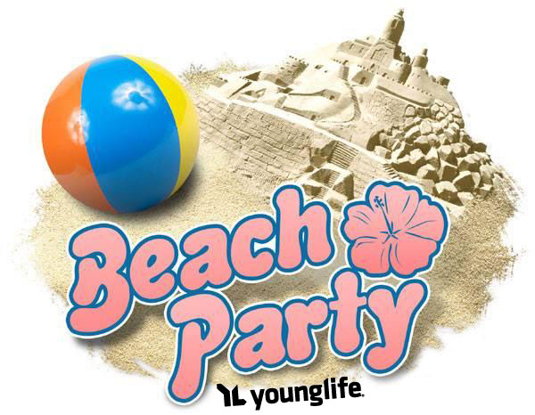 Beach Party Clipart.
