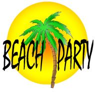 Beach Party Clipart.