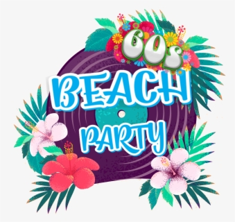 Free Beach Party Clip Art with No Background.