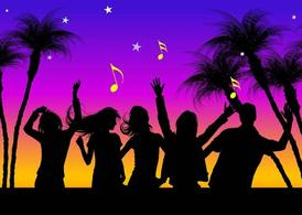 Vector Beach Party Clipart Picture Free Download.
