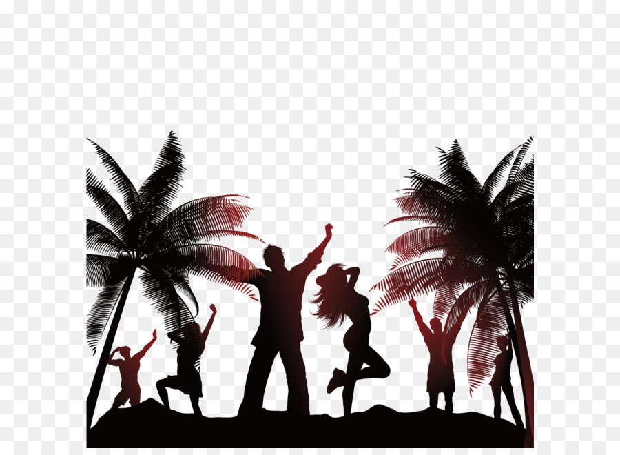 Beach People png download.