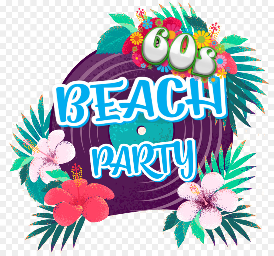 Beach Party png download.