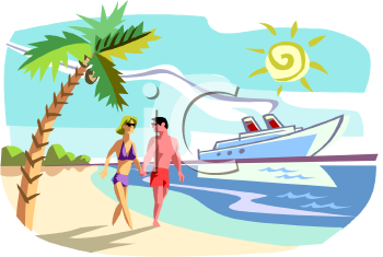 Clip Art Beach People Clipart.