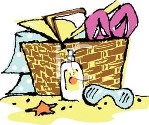 Beach picnic clipart » Clipart Portal.
