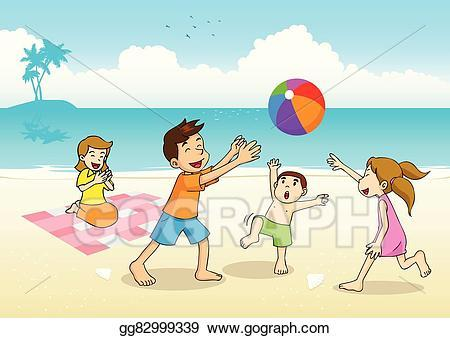 Beach picnic clipart 3 » Clipart Portal.