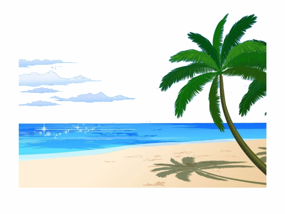 Spring Beach Png Clipart.