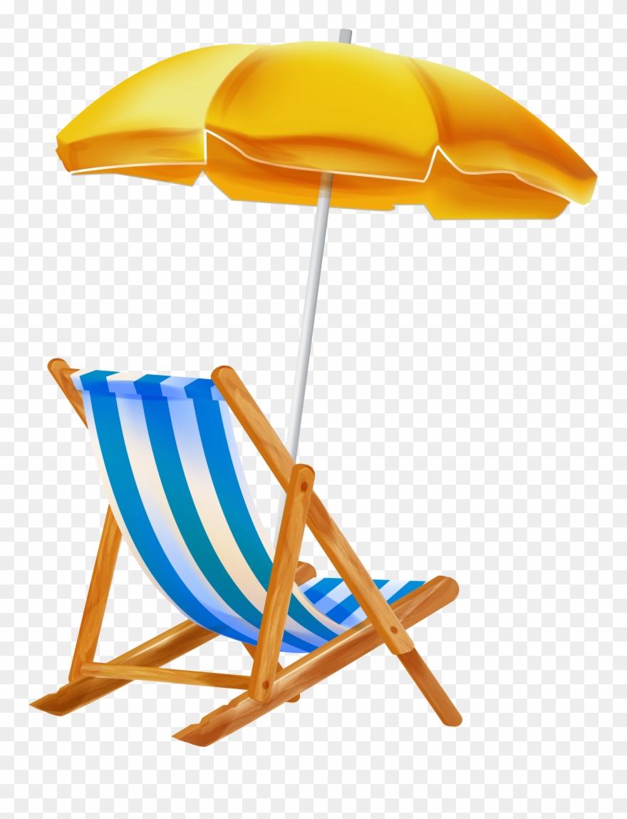 Beach Umbrella With Chair Png Clipar Gallery Beach.