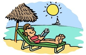 Free Beach Reading Cliparts, Download Free Clip Art, Free.