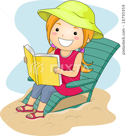 Beach Reading Cliparts Free Download Clip Art.
