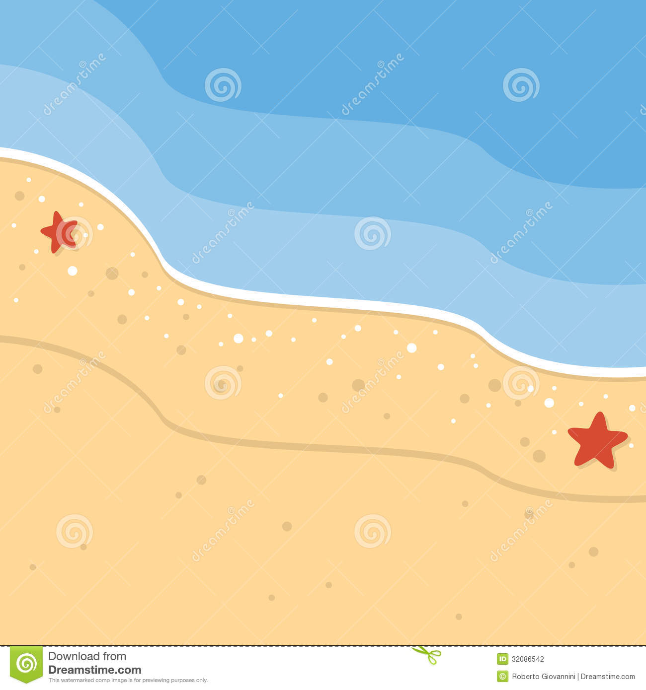 Sea Sand Clipart.