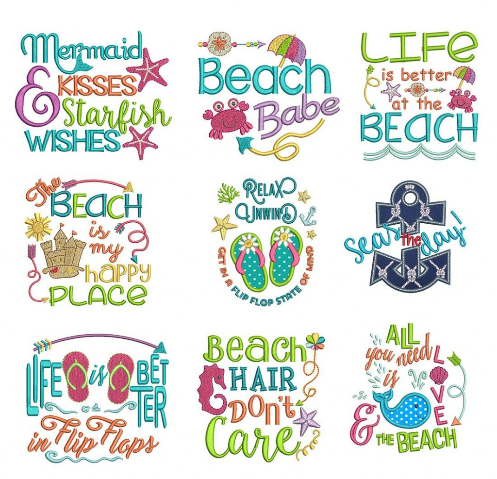 The Most Magical Beach Sayings Review.