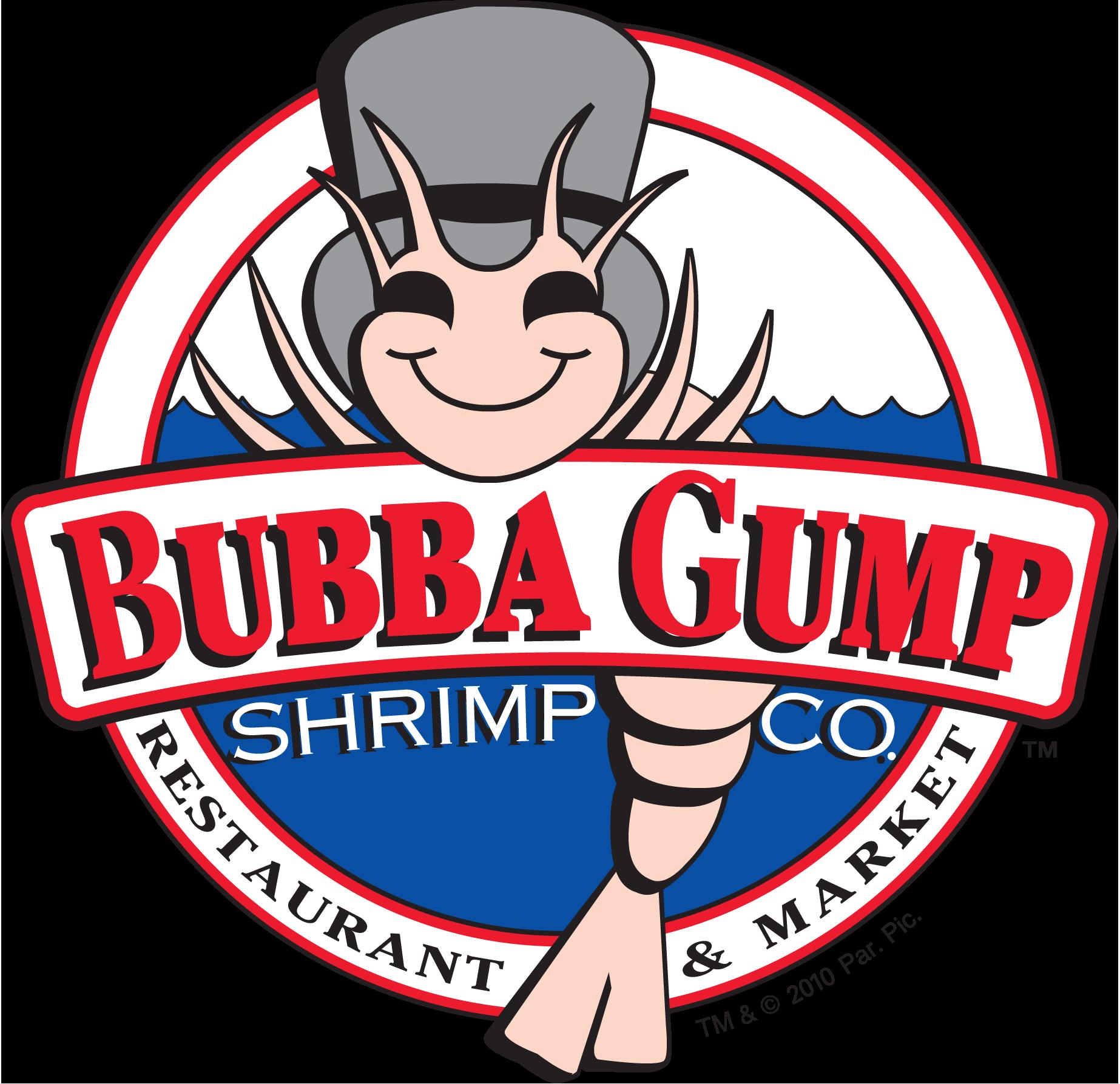 Bubba gump shrimp logo clipart.