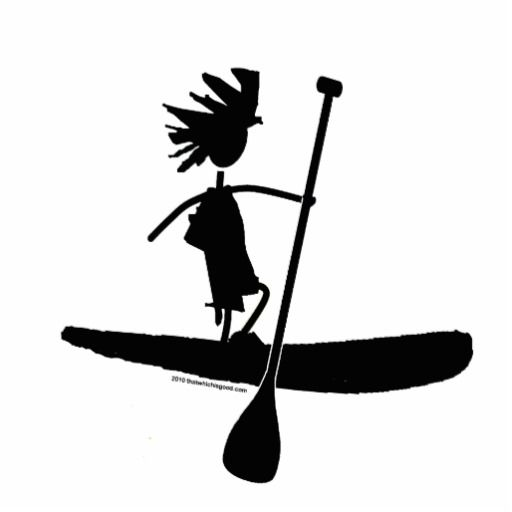 stand up paddle board clip art.