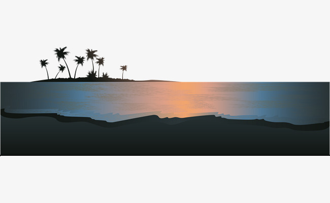 Download Free png Sunset Beach Sunset Island, Beach At Sunset.