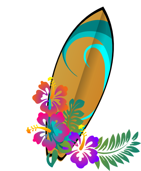 Beach surf clipart.