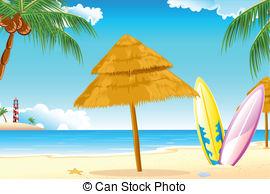 Beach surf clipart.