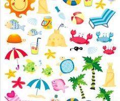 Beach theme clipart 6 » Clipart Portal.