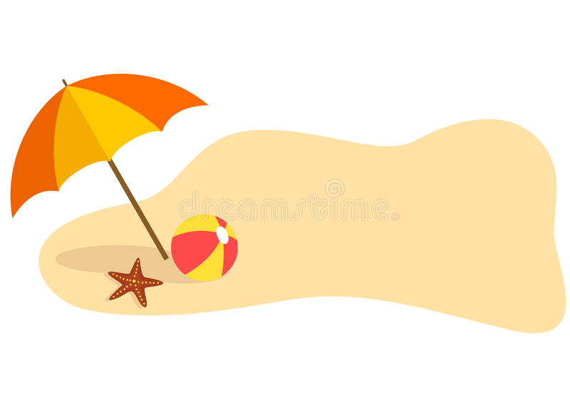 Beach Themed Stock Illustrations.