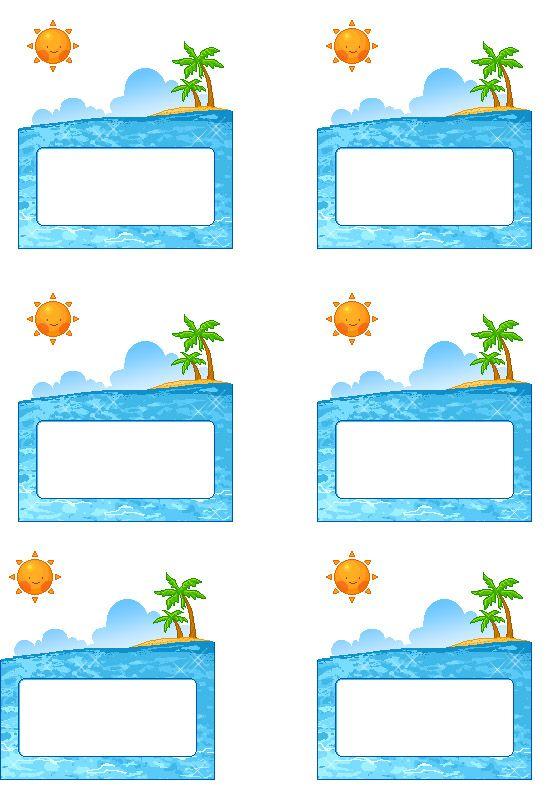 Ocean Clipart For Kids.