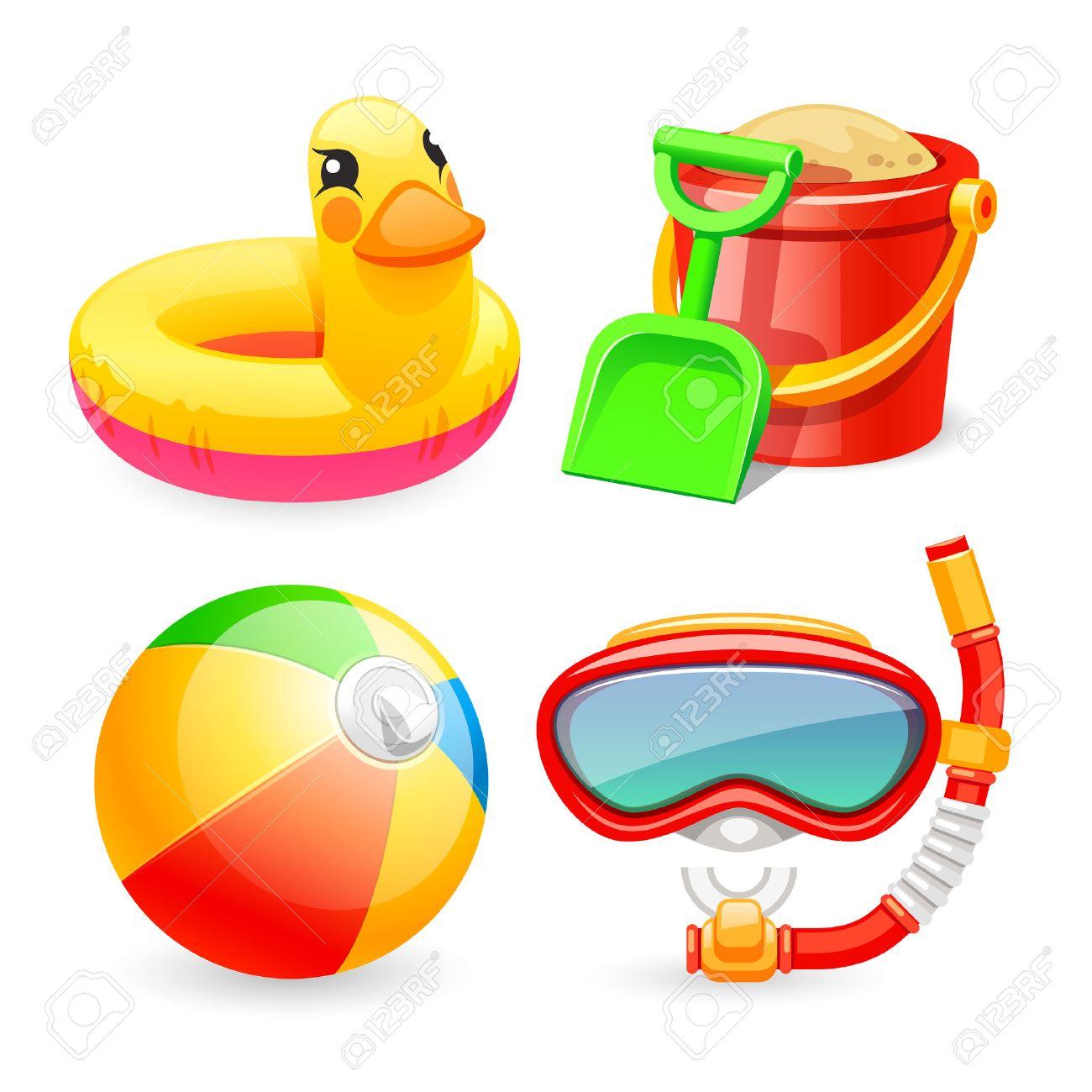 Beach toys clipart 6 » Clipart Station.
