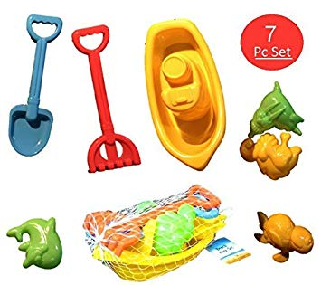 Amazon.com: UrbHome 7 PC Beach Toy Play Set,: Toys & Games.