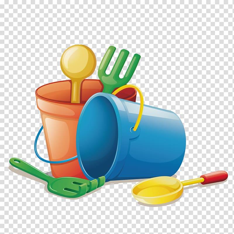 Sand toy set , Beach Toy Child Illustration, beach bucket.