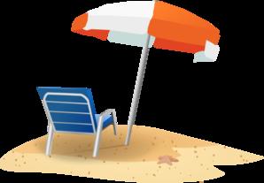 12292 Beach free clipart.