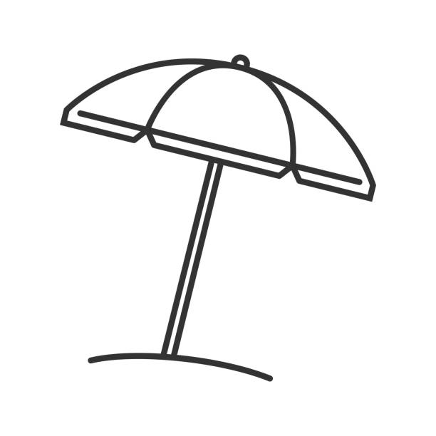 Best Beach Umbrella Illustrations, Royalty.