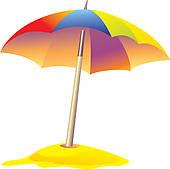 Beach Umbrella Clip Art.