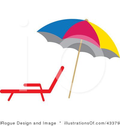 Beach Umbrella Clipart Black And White.