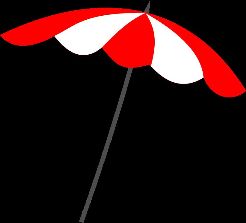 Beach Umbrella Clipart.