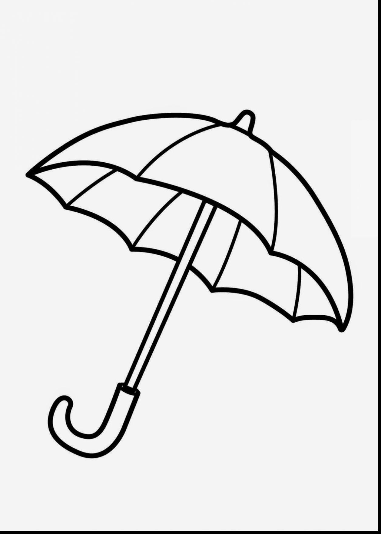 Umbrella Clipart Black And White.