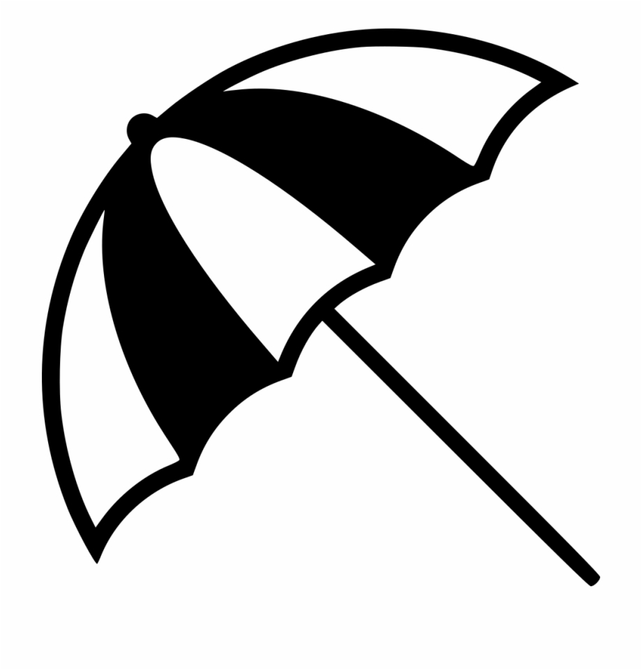 Beach Umbrella Icon Png , Png Download.