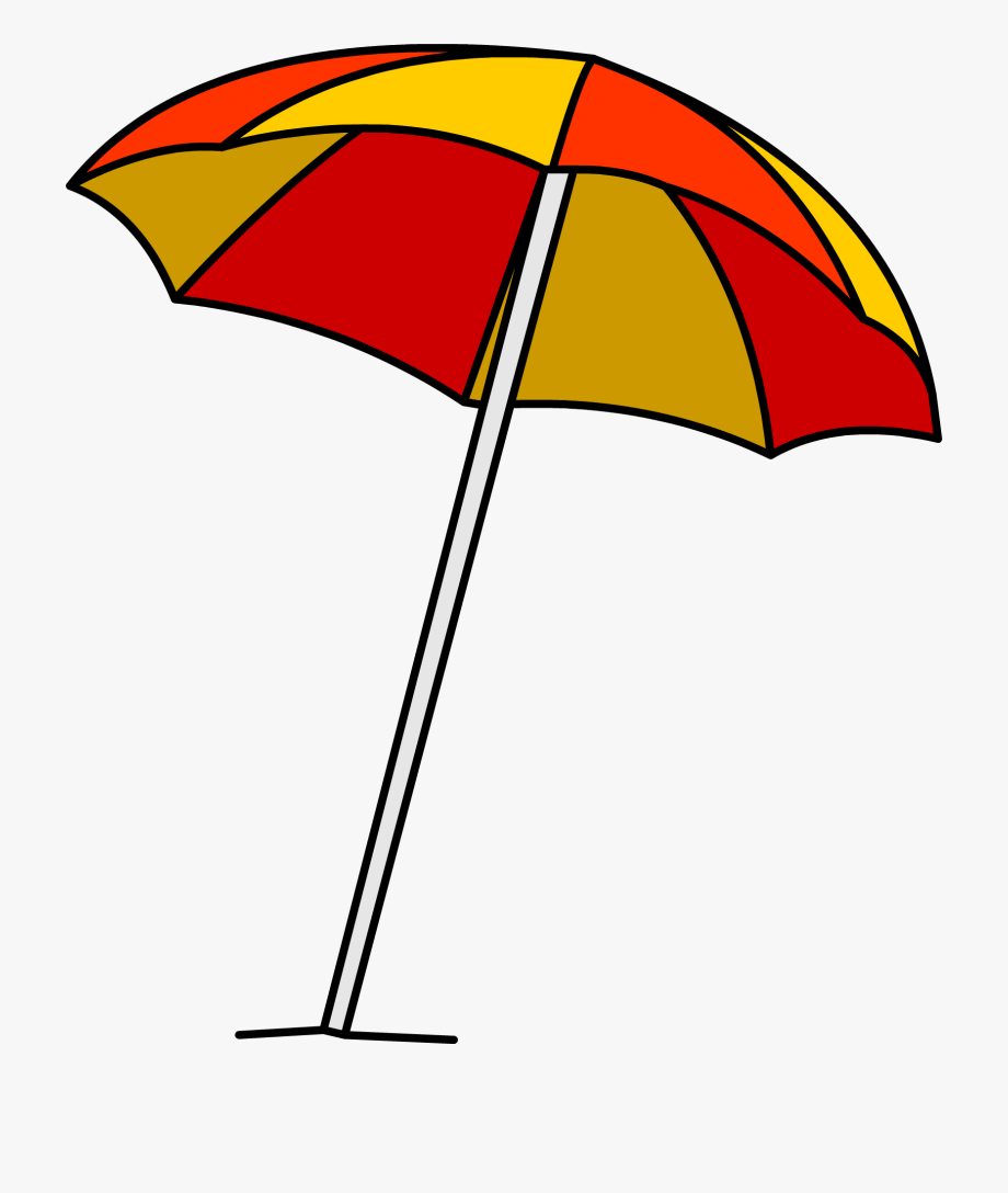 Clipart Beach Beach Umbrella.