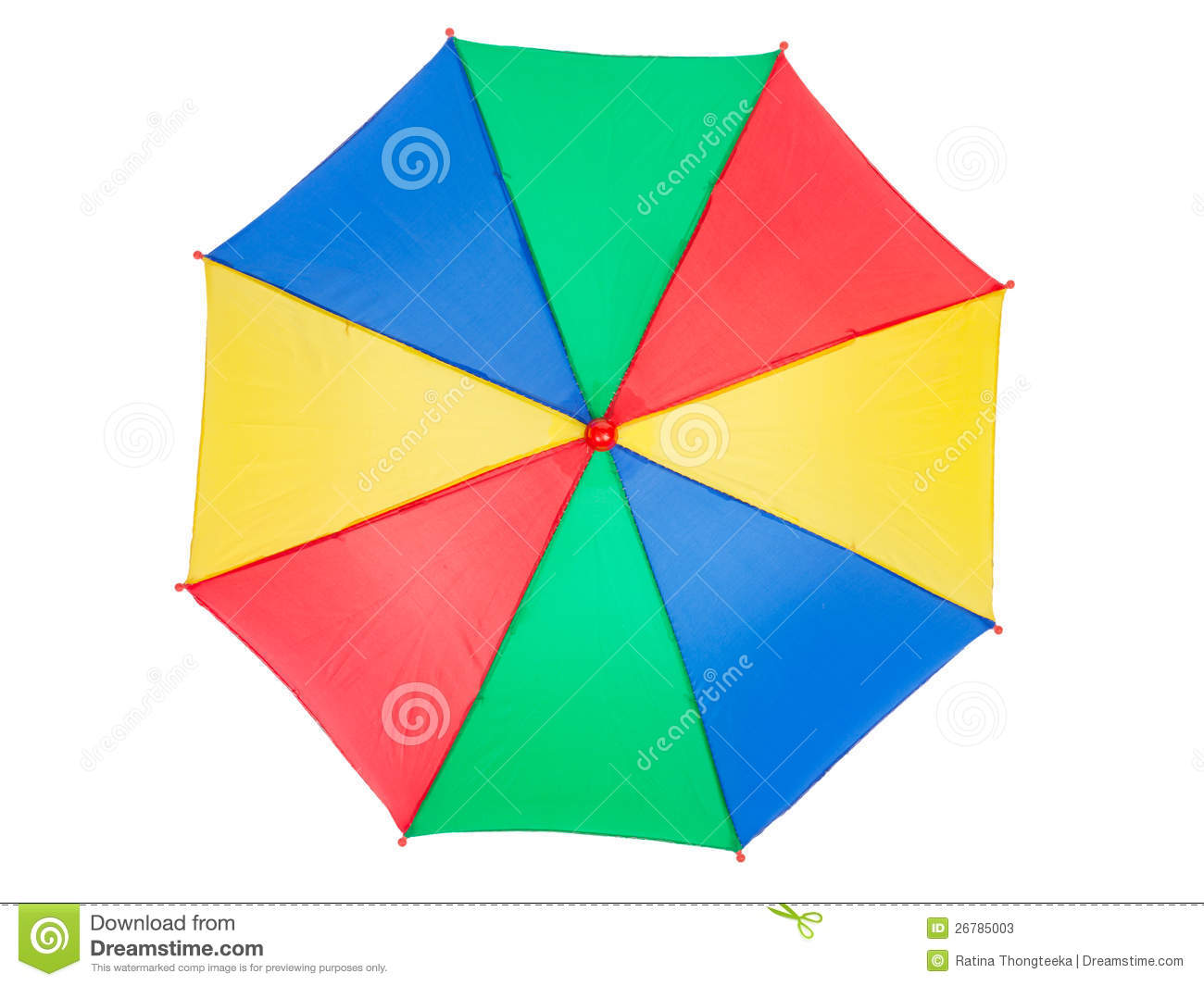 Umbrella Top Clipart.