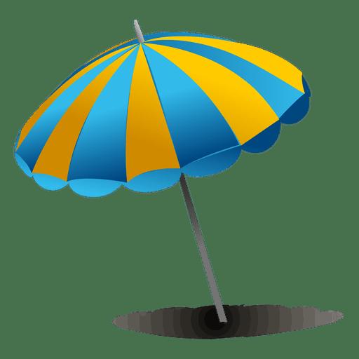 Beach Umbrella Png Transparent Vector, Clipart, PSD.