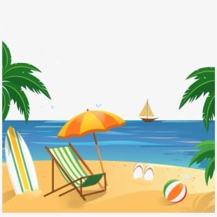 Summer Wallpaper Poster Hotel Vacation Resort Beach.