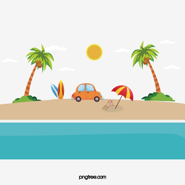 Marine Beach Vector, Hand, Ocean Beach, Sunlight PNG and Vector for.