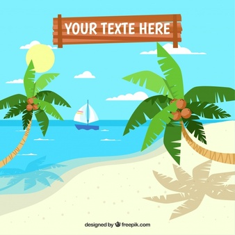 Beach Vectors, Photos and PSD files.