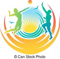 Beach volleyball Illustrations and Clipart. 3,909 Beach volleyball.