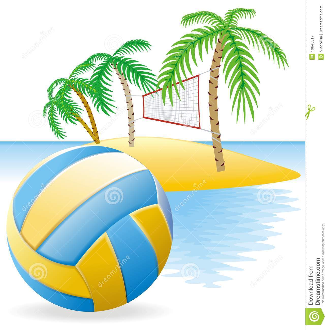 Beach Volley Clipart Clipground