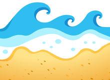 Beach Waves Cliparts.