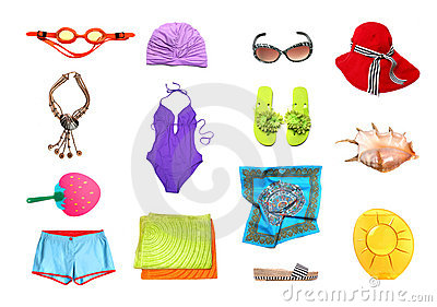 Swimming Suit Royalty Free Stock Photography.