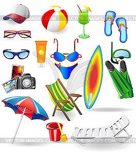 Beach Clothes Clipart.