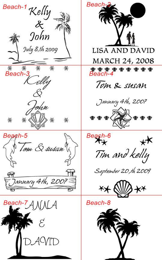 wedding beach clip art free printables.